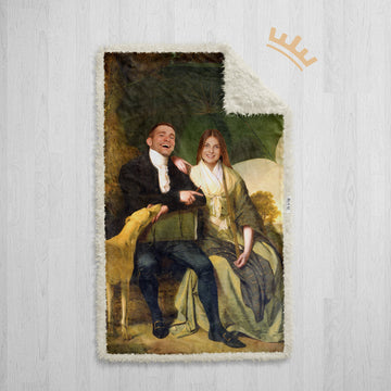 The Duke & Duchess (Couple) - Royal Sherpa Blanket™