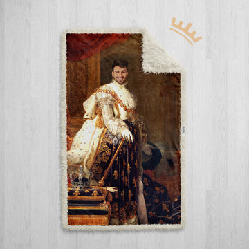 The King - Royal Sherpa Blanket™