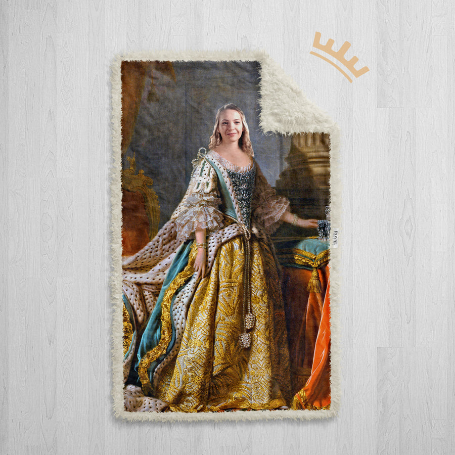 The Queen Henrietta - Royal Sherpa Blanket™