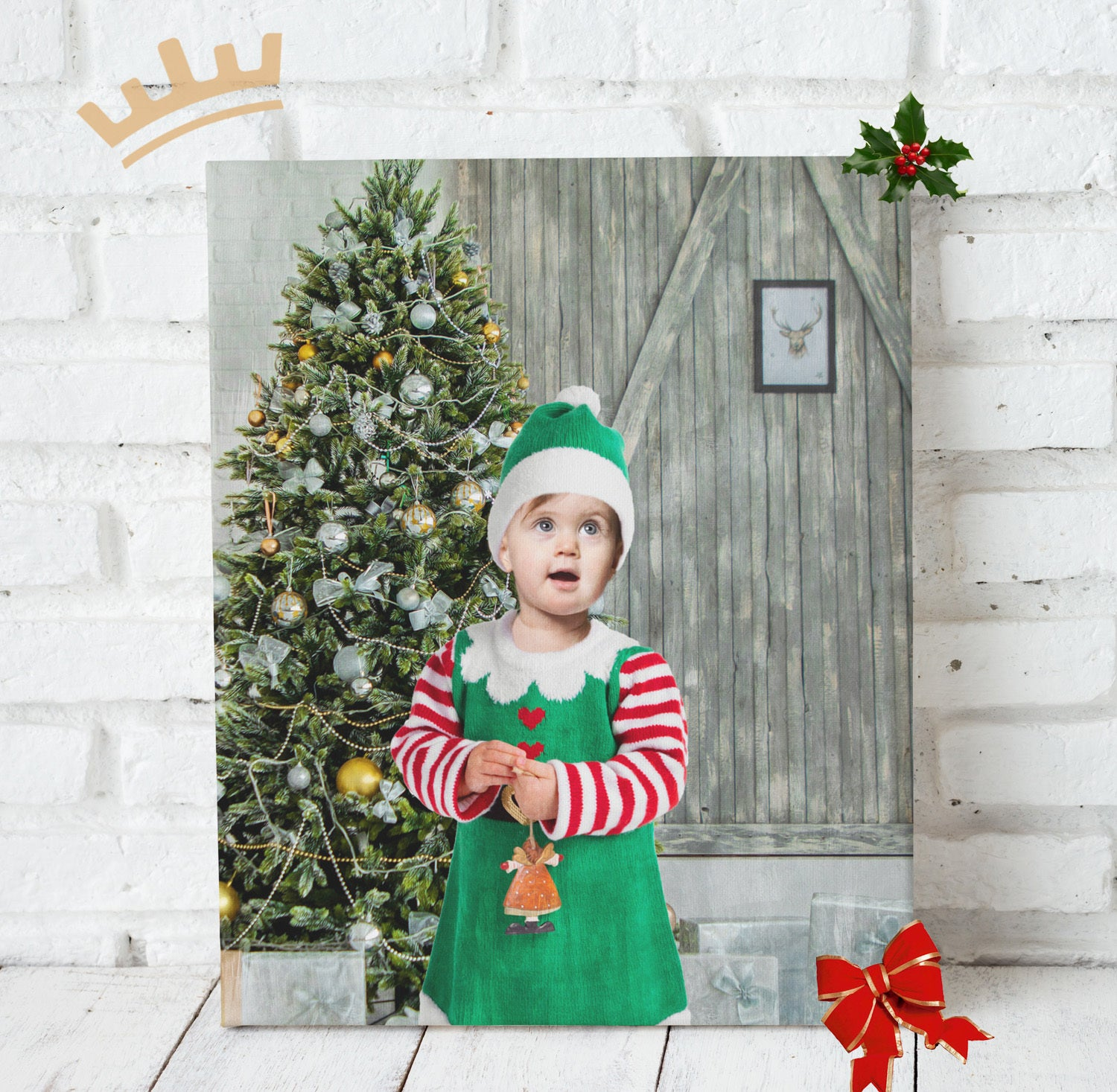 The Baby Elf - Custom Portrait