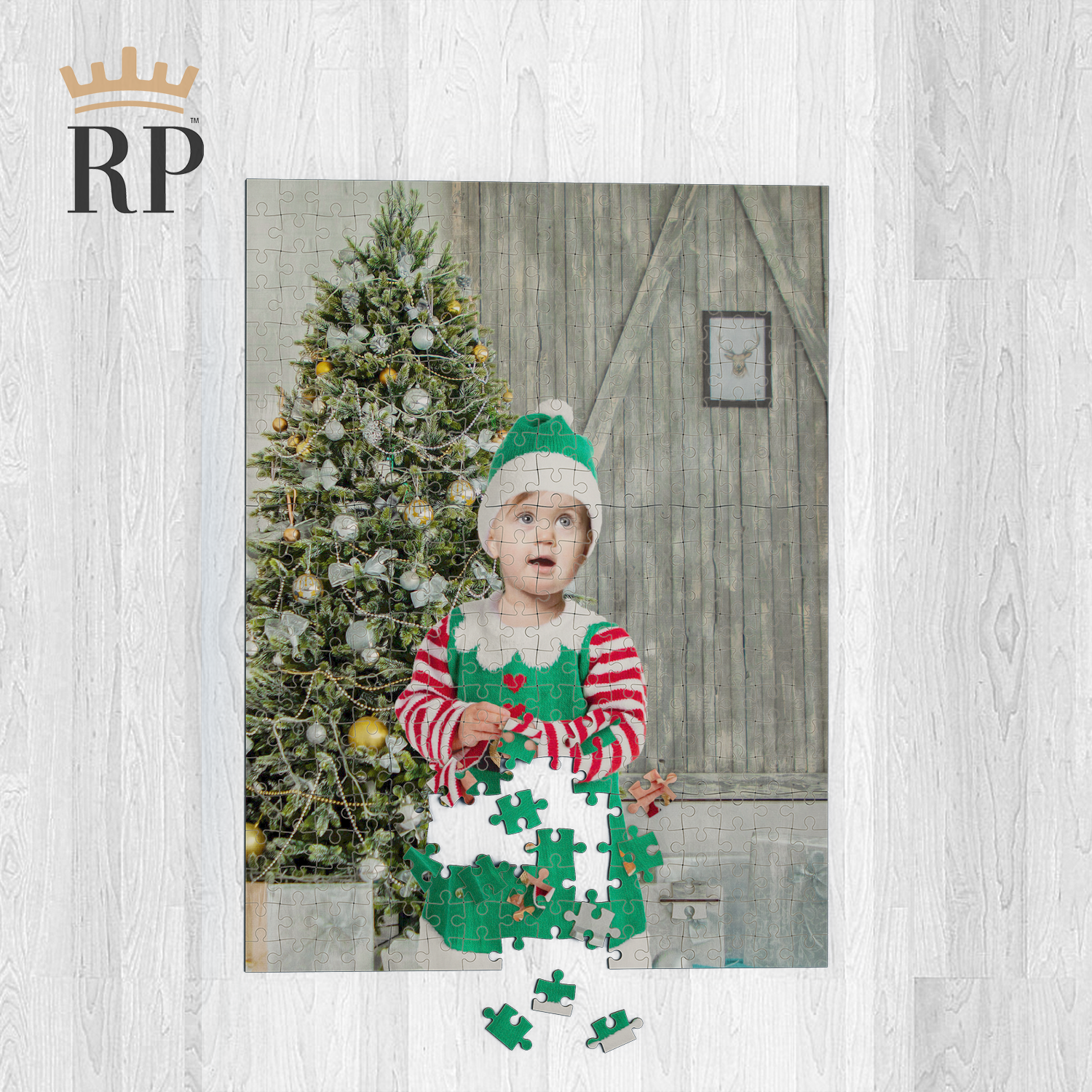 THE BABY ELF - CUSTOM ROYAL PUZZLE