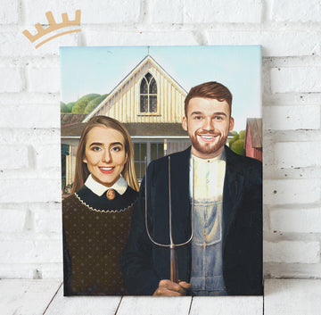 The American Gothic (Couple)