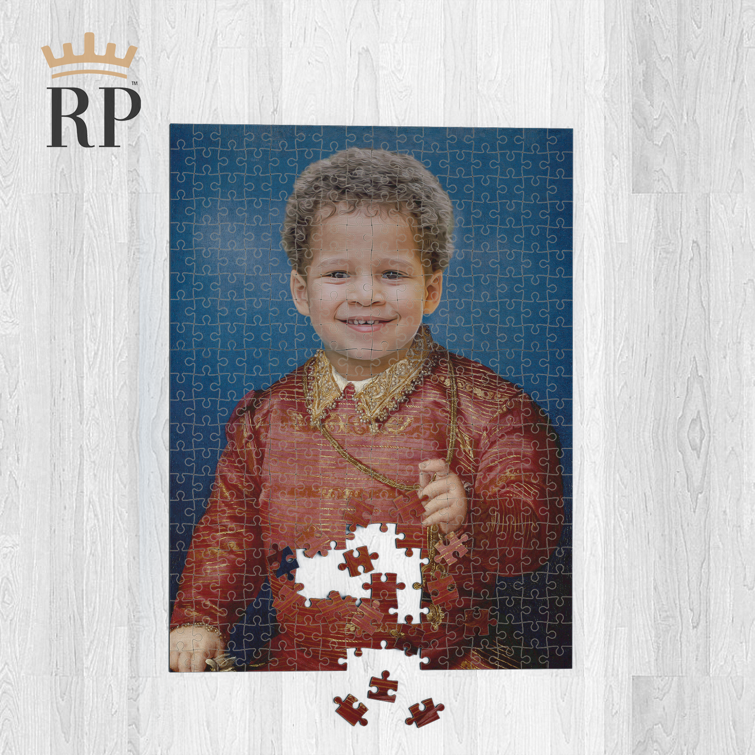 JAMES VI (BABY) - CUSTOM ROYAL PUZZLE