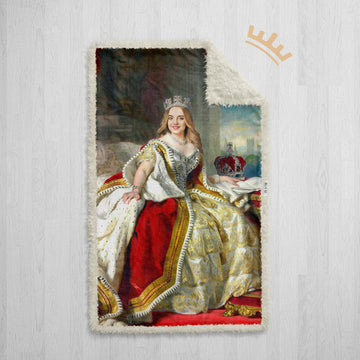 The Queen - Royal Sherpa Blanket™