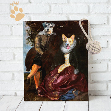 The Lord & Lady - Custom Pet Canvas