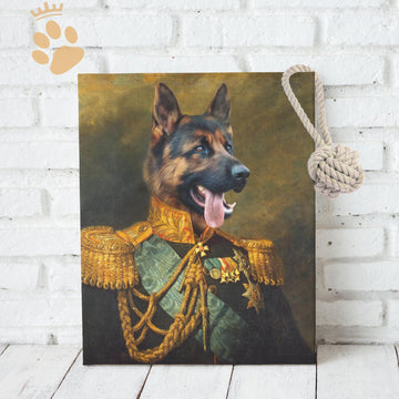 The Lance - Custom Pet Canvas