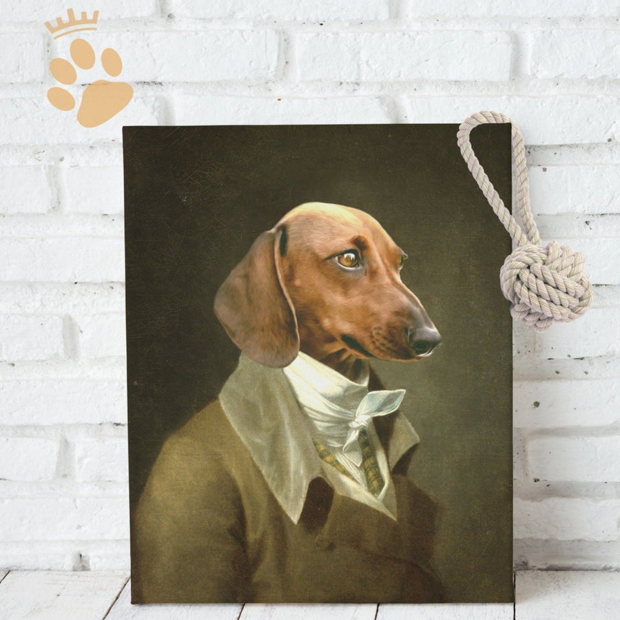 The Sir - Custom Pet Canvas