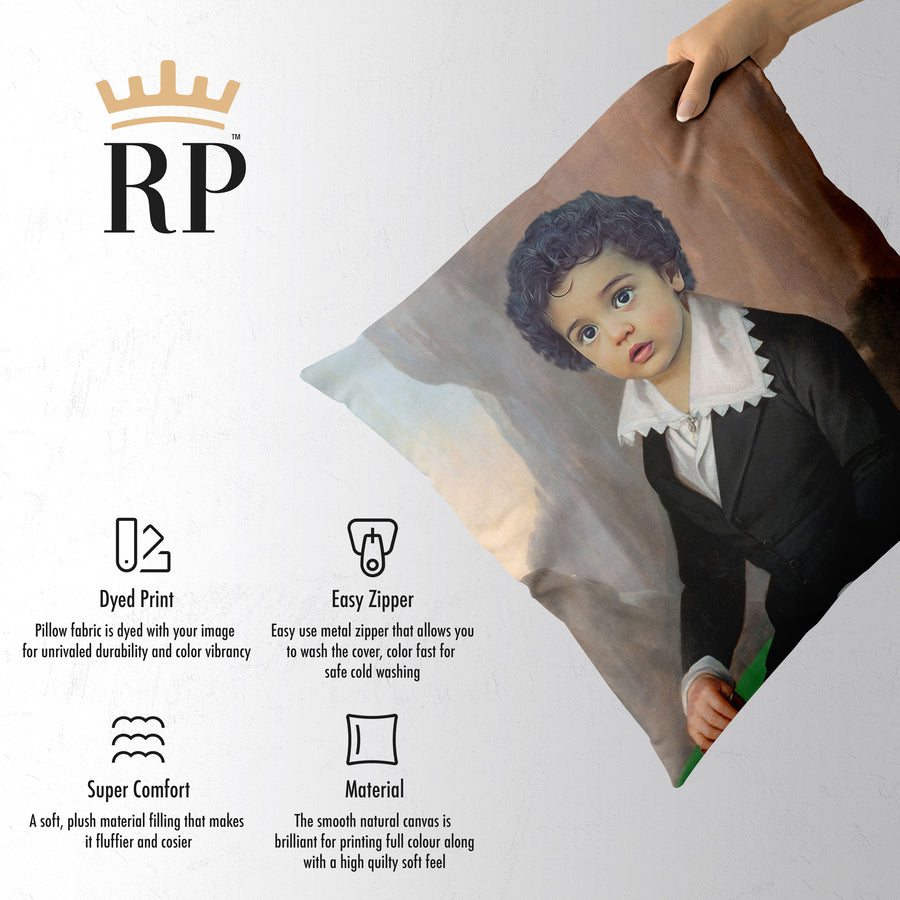 Alexander the Great (Baby) - Royal Pillow™