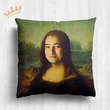 The Mona Lisa - Royal Pillow™