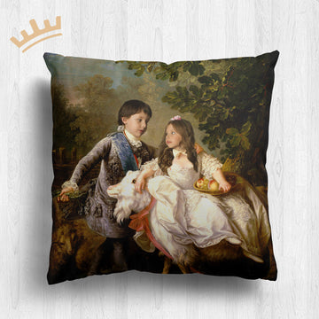 The Prince & Princess (Children) - Royal Pillow™