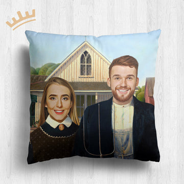 The American Gothic - Royal Pillow™
