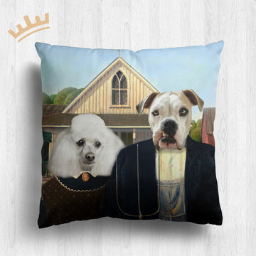 The American Gothic - Royal Pet Pillow™
