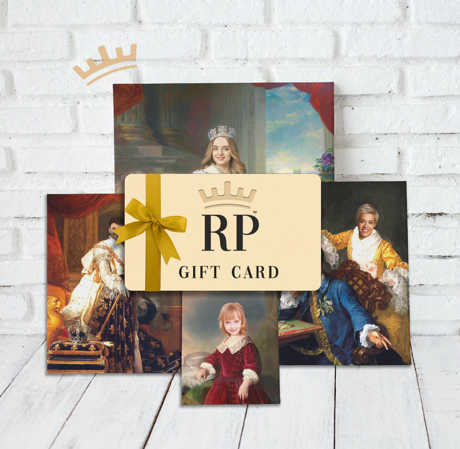 Royal Portrait Gift Card