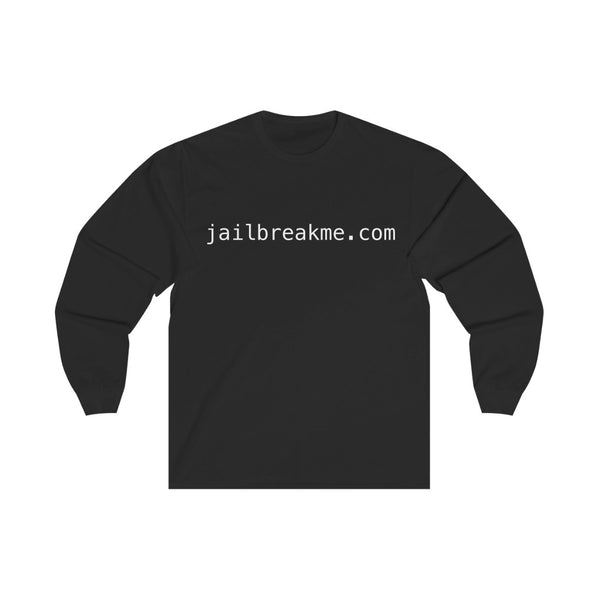 jailbreakme.com Long Sleeve T Shirt