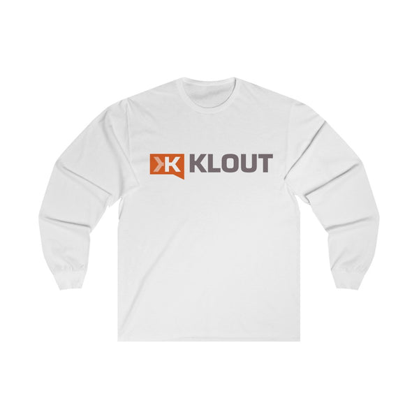 Klout Long Sleeve T Shirt