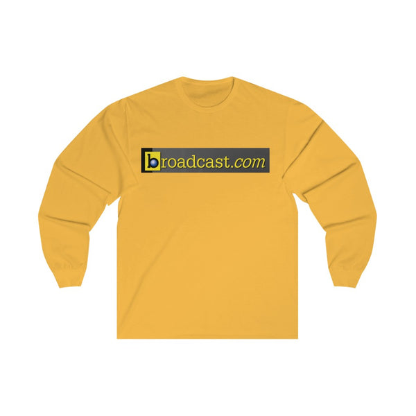 Broadcast.com Unisex Long Sleeve Tee