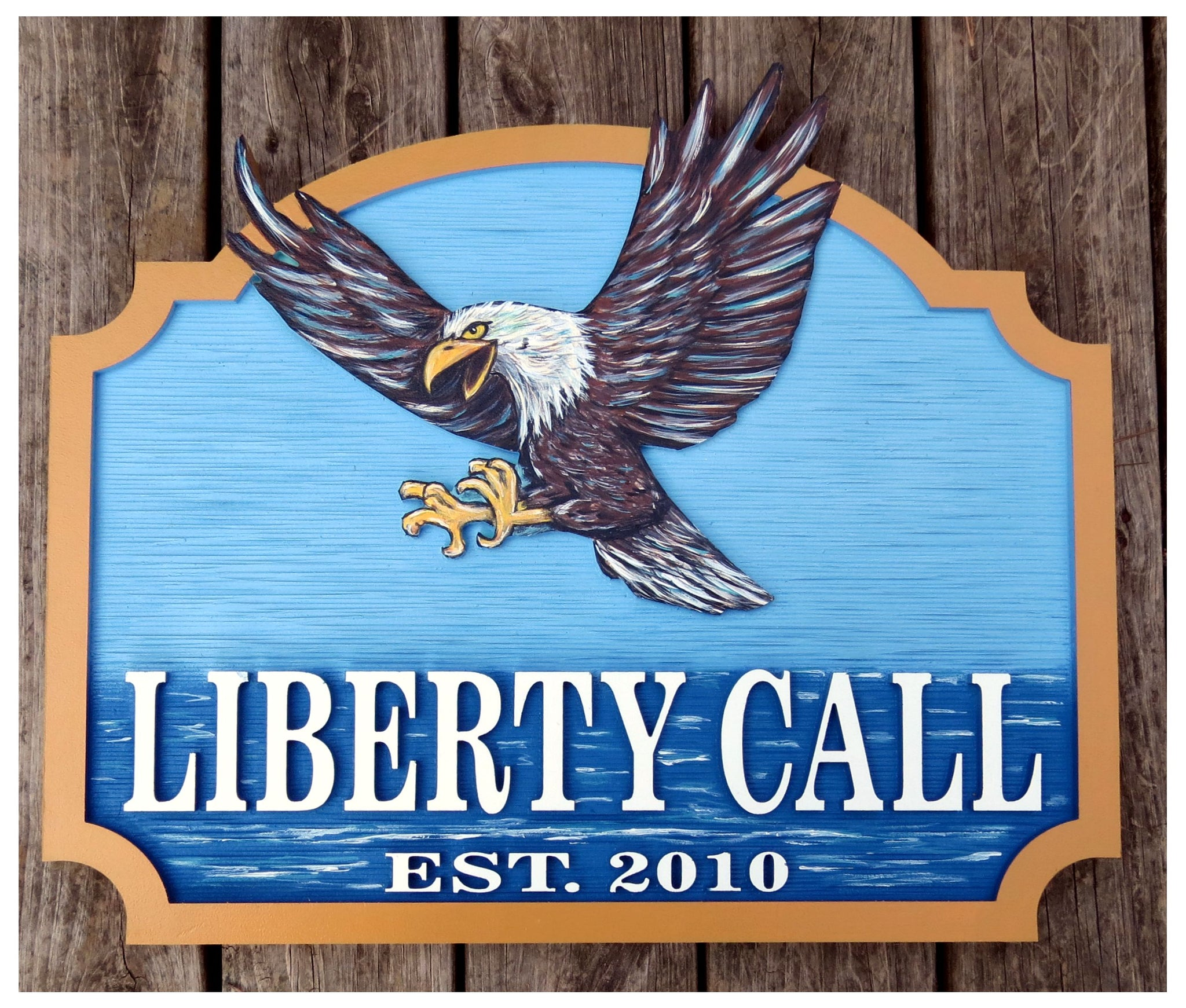 Misc. Signs - Eagle, Personalized House Signs - MS04