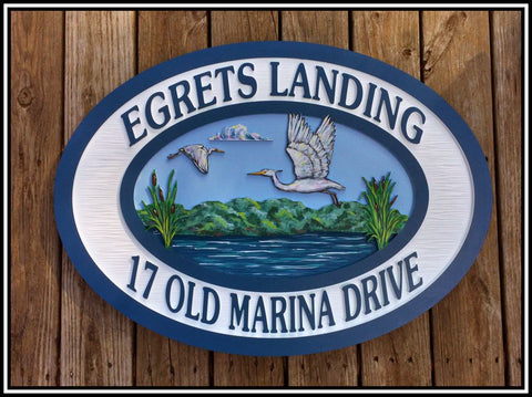 Beach House Signs, Lake House, Personalized House Signs (BH34)