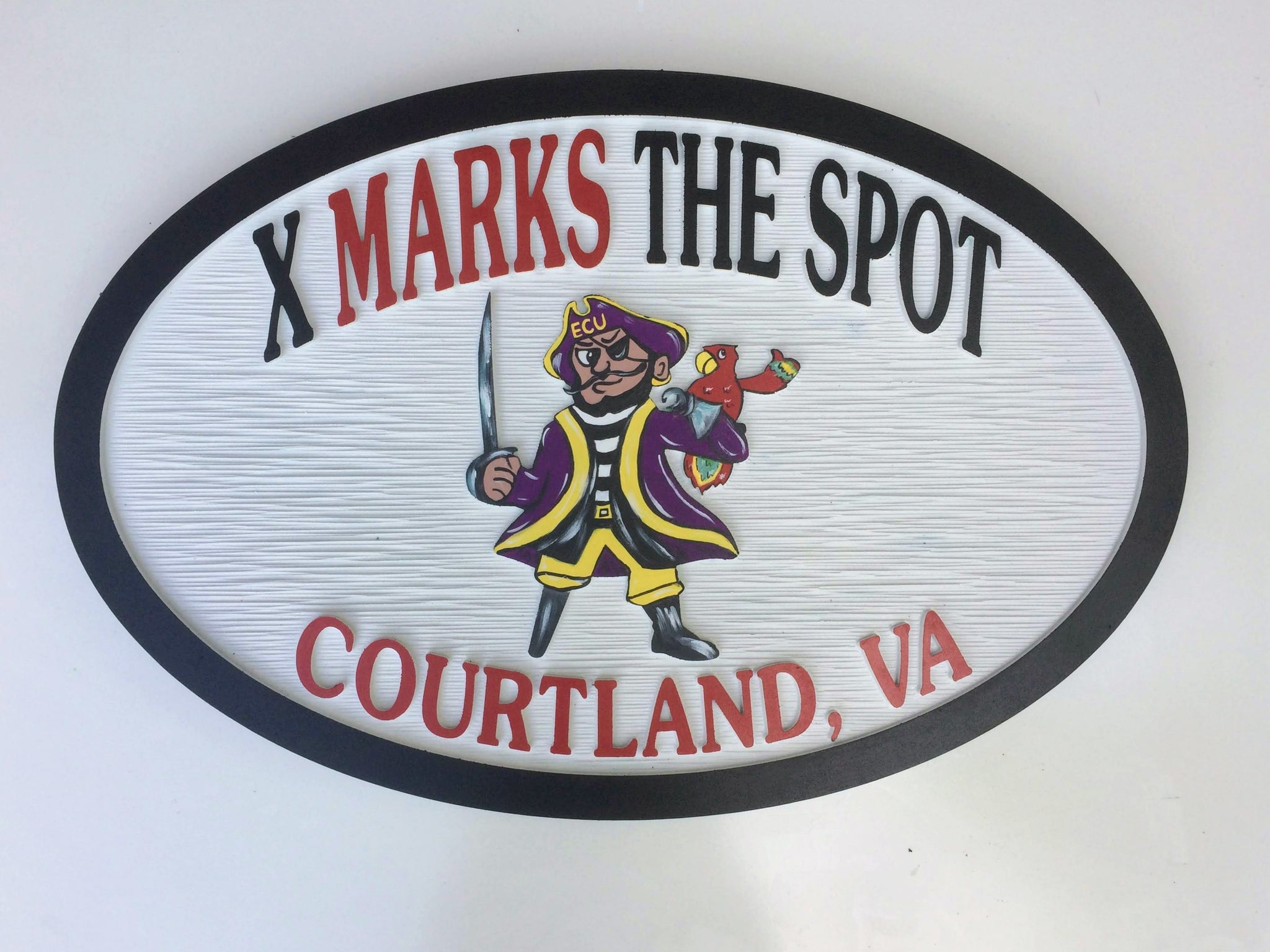 Misc. Signs - Pirate,  Personalized House Signs (MS02)