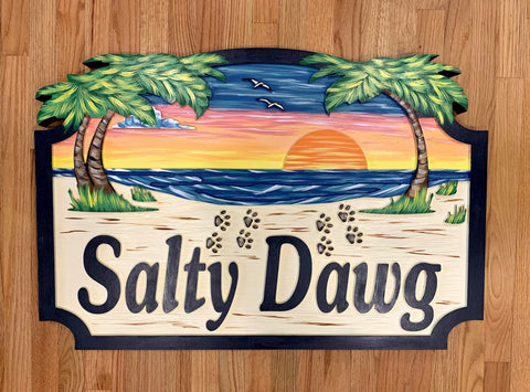 Beach House Signs,     Personalized House Signs (BH18)