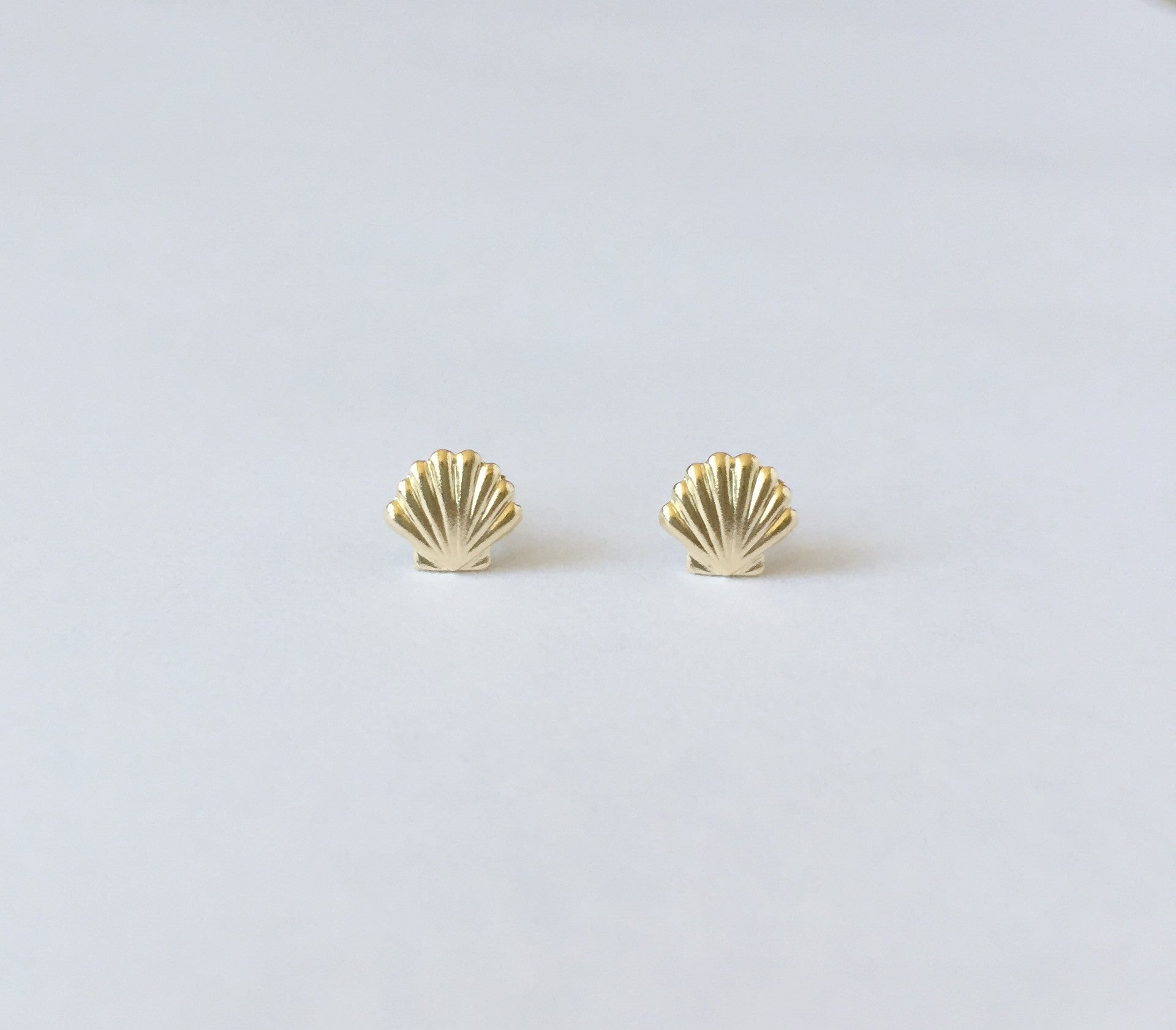 image studs star earrings and gold handmade silver tiny zoom moon stud