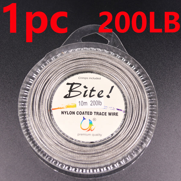 4x 10 Meters Fishing steel wire Fishing lines 7-strand super soft wire lines
