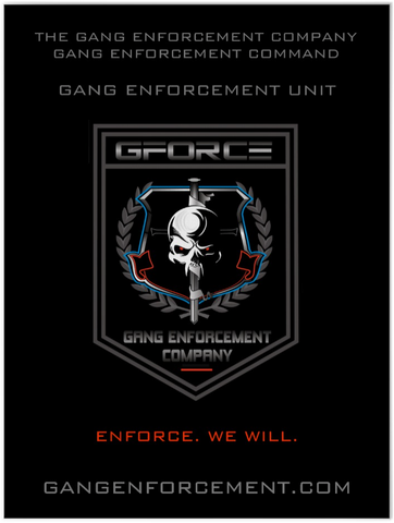 Gang Enforcement Unit Poster