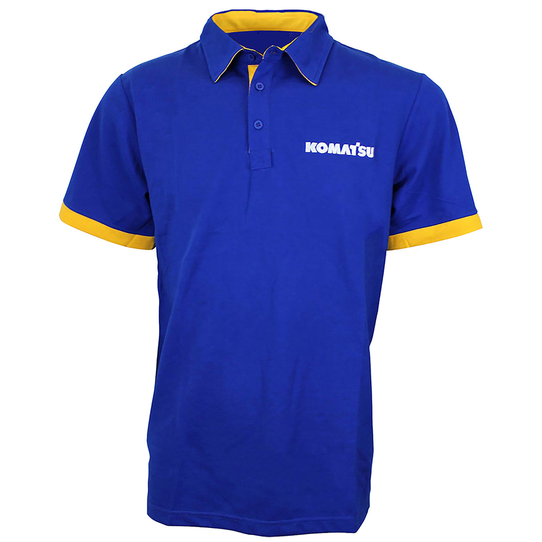 KOAMTSU BLUE/YELLOW POLO