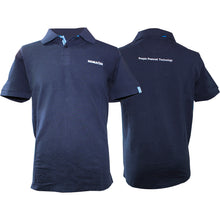 Load image into Gallery viewer, KOMATSU COTTON NAVY POLO