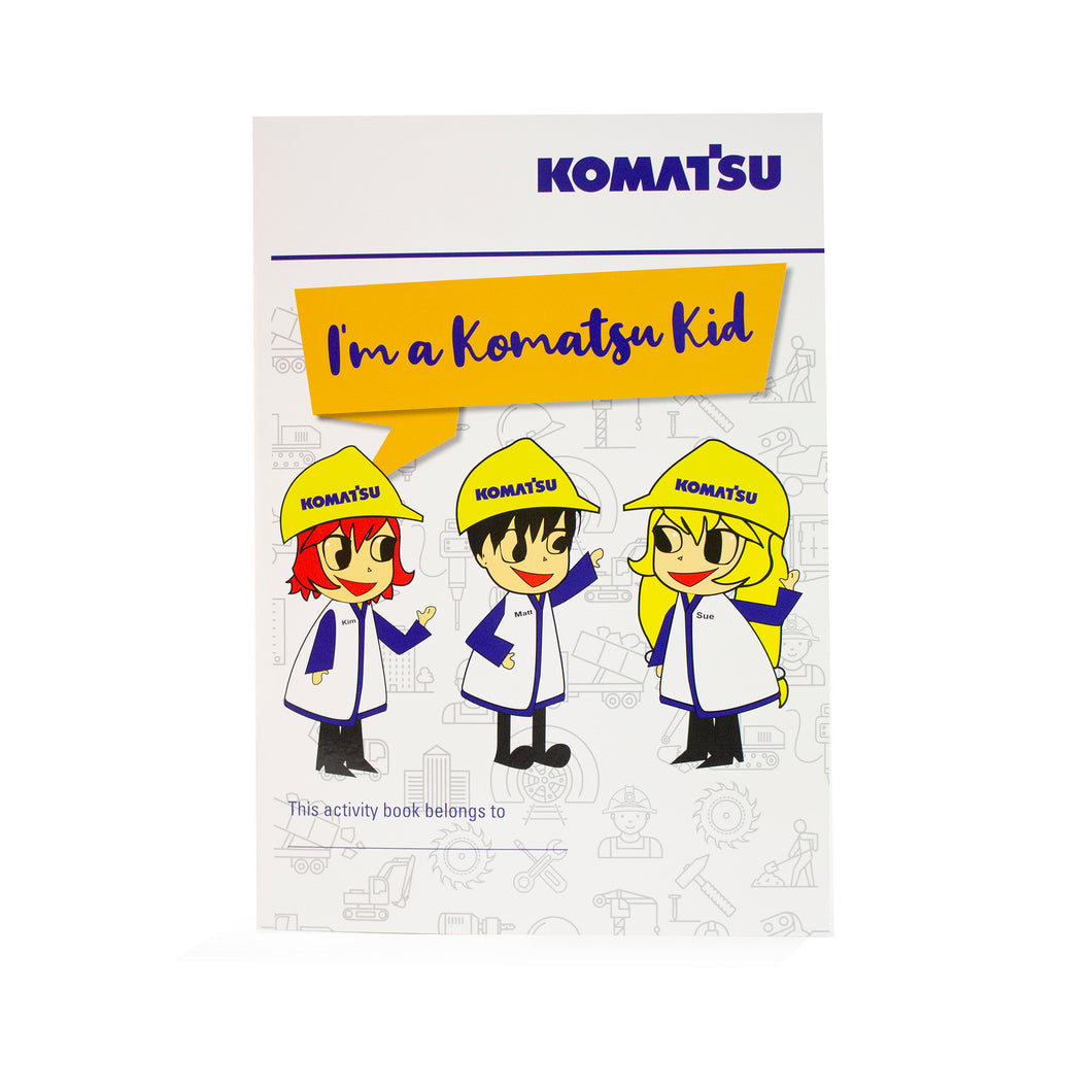 KOMATSU KIDS ACTIVITY BOOK