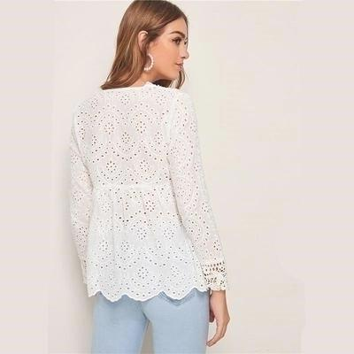 White Blouse Hippie Chic chaming