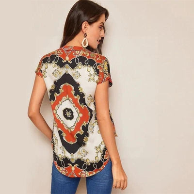 Hippy Blouse finely tailored