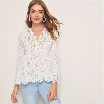White Blouse Hippie Chic style
