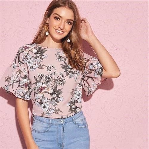 Hippie Blouse Chic Woman 2019