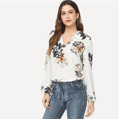 Women'S Hippy Blouse Ladylike