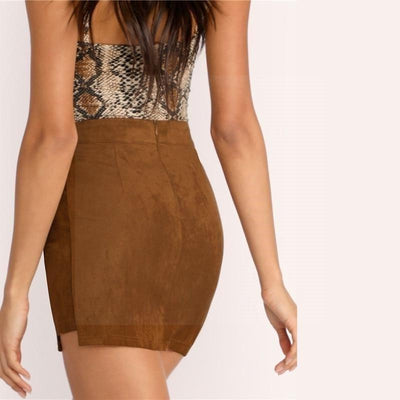 Brown Boho Skirt best