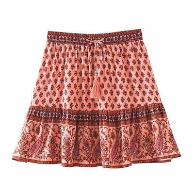 Boho Spirit Skirt Boho trendy
