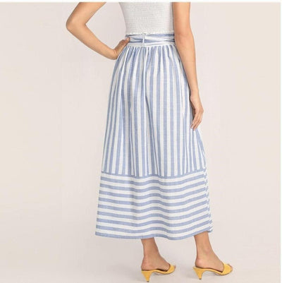 Boho Blue Long Skirt review