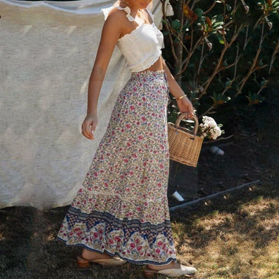 Boho Chic Long Skirt boho chic