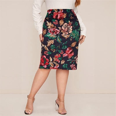 Boh Me Skirt Big Size chic