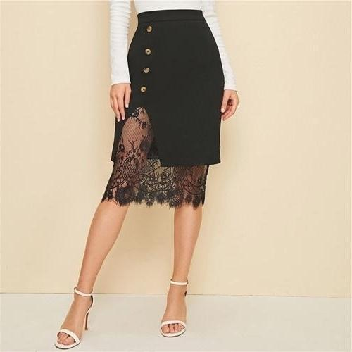Boho Lace Long Skirt luxury