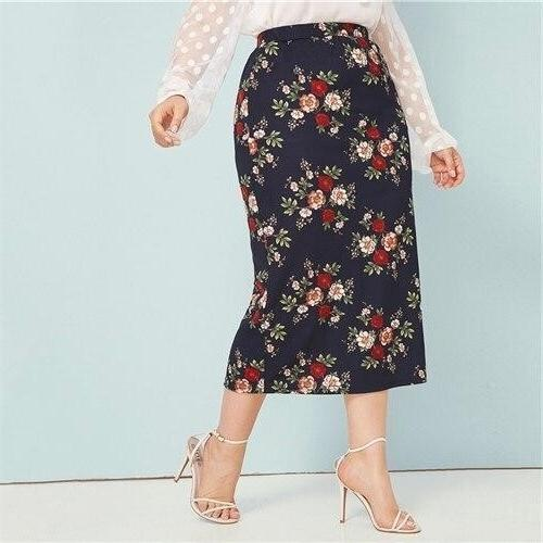 Boh Me Long Skirt Big Size luxury