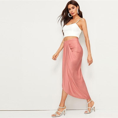 Pale Pink Boho Long Skirt beautiful