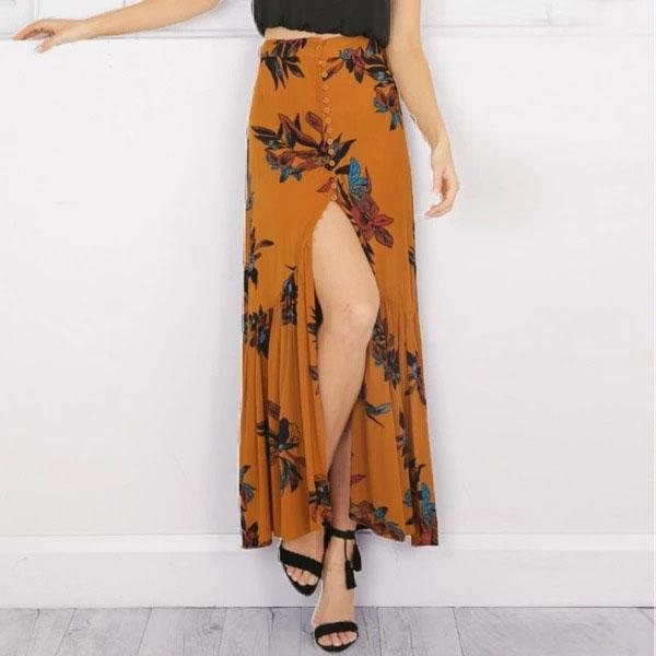 Boho Long Skirt Special Winter finely tailored