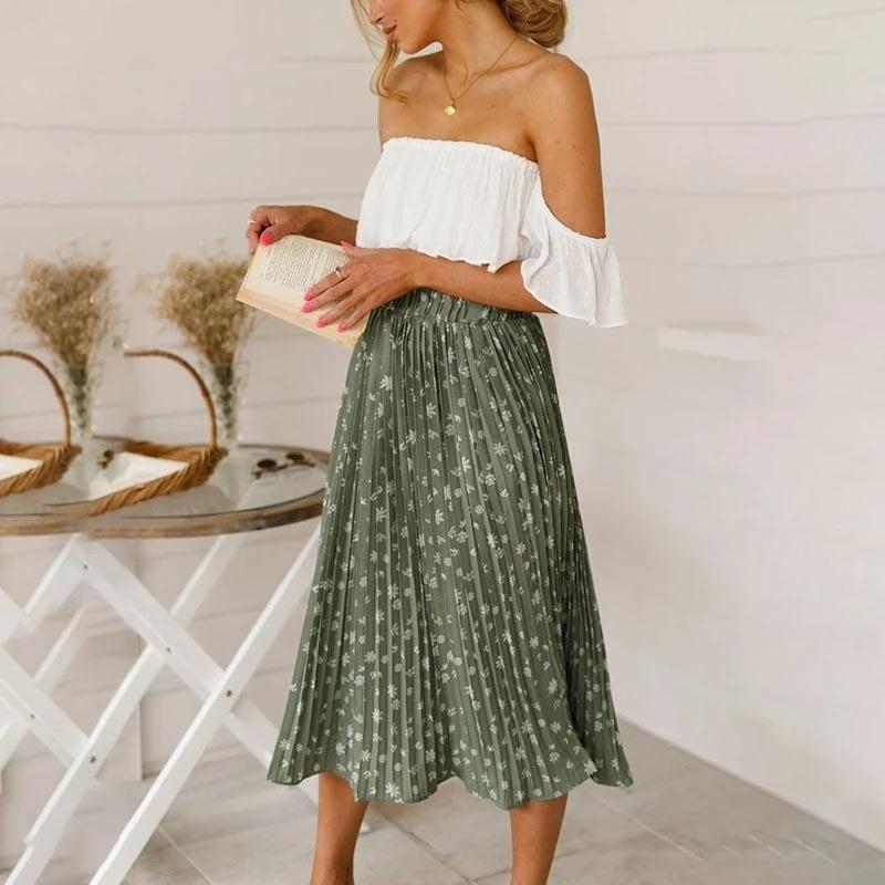 Boho Long Skirt Ladylike