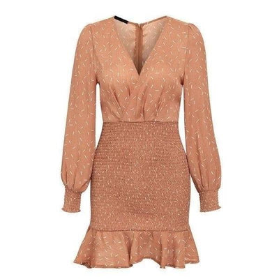 Boho Autumn Dress luxury