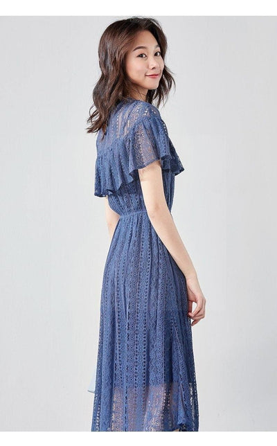 Boho Chic Dress Navy Blue bohemian life