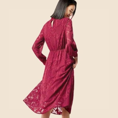 Boho Chic Red Dress beautiful