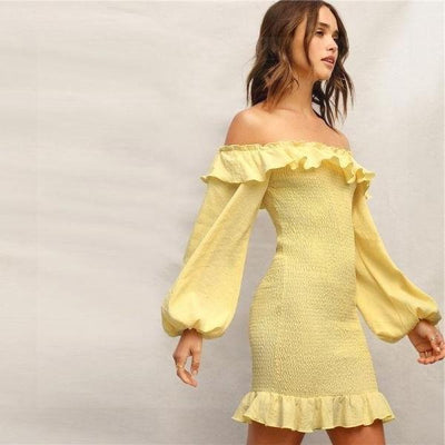 Yellow Boho Dress best