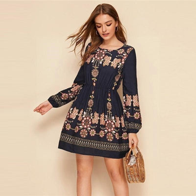 Boho Cotton Dress cheap